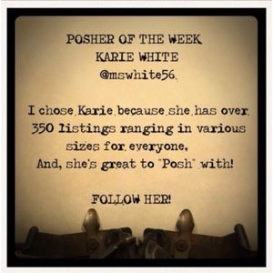 🎊💕First Posher to Be Chosen for this Honor! (Karie was my old name!)💕🌟